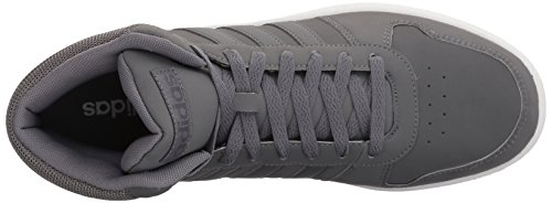 Mens Adidas Vs Mid 2.0 Grigio / Grigio / Grigio