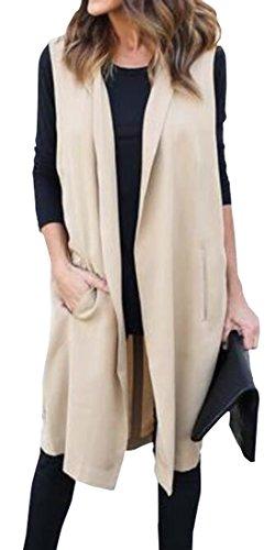 Womens Clothing : Vests Khaki - 4