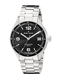 Claude Bernard Men's 70169 3 NIN Analog Display Swiss Quartz Silver Watch