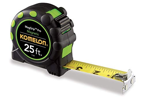 (Komelon 7125 Monster Maggrip 25-Foot Measuring Tape with Magnetic End)