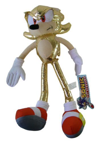 Super Sonic The Hedgehog Series Plush - Sega Gold …