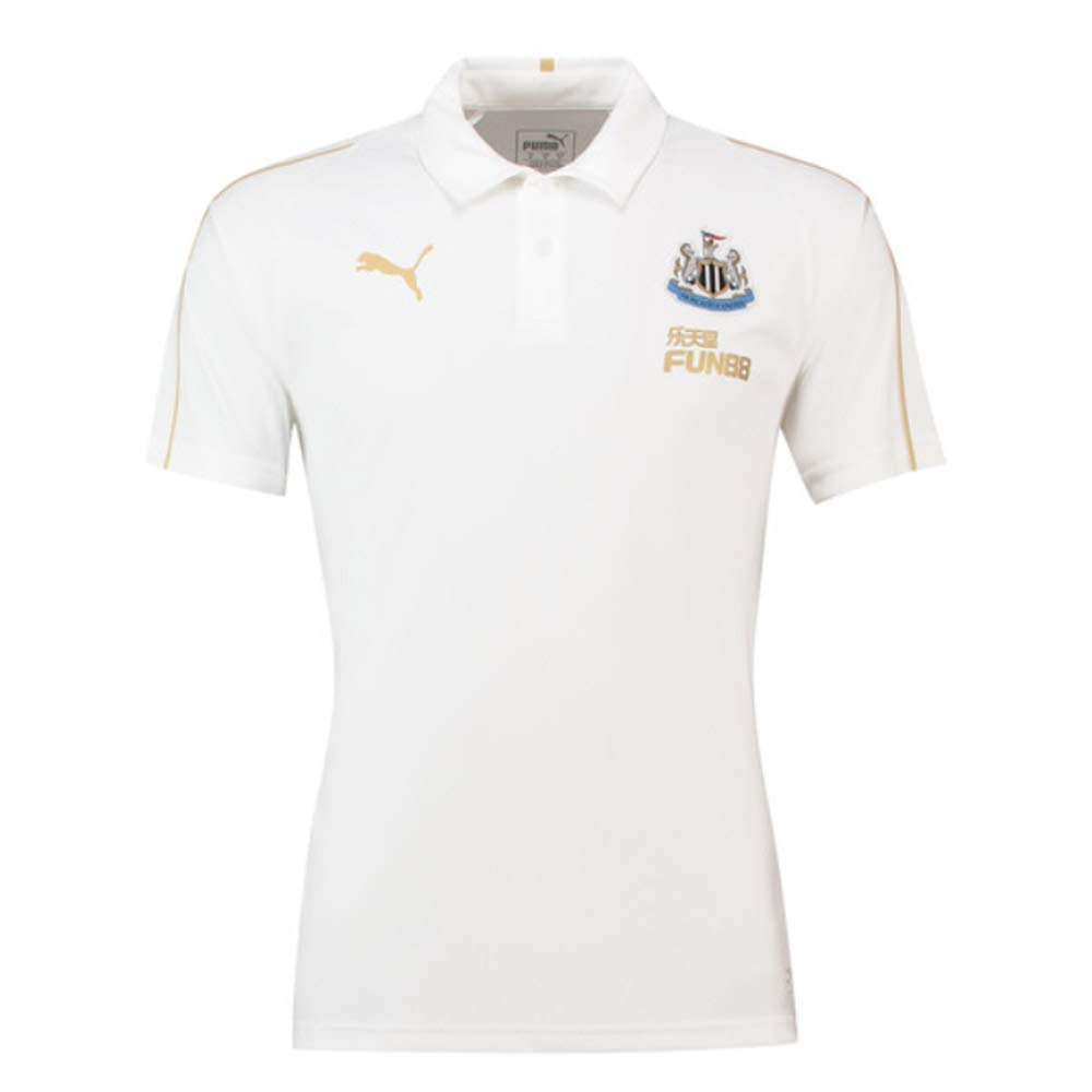 Puma 2018-2019 Newcastle Leisure Polo Shirt (White): Amazon.es ...