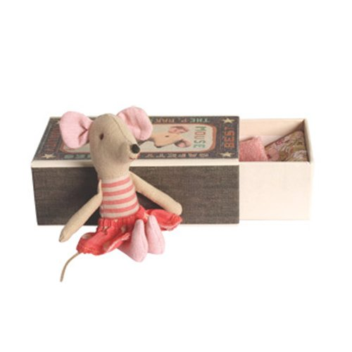 Maileg Big Sister Dot Mouse in a Box