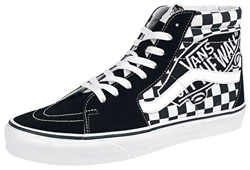 Vans Sh8-Hi Black/White Patch Skate/Casual 11.5 from Vans