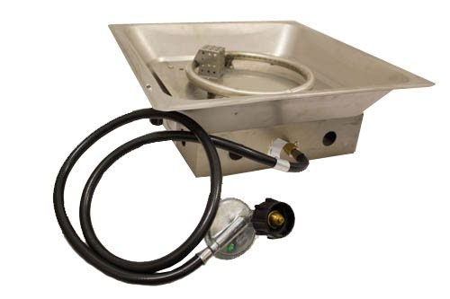 AZ Patio GSF-BURNER Fire Pit Burner Replacement for GS-F-PC, GS-F-PCSS, and F-1108-FPT, Stainless Steel