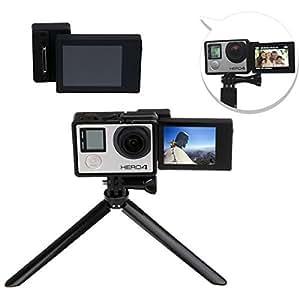 Doradus caja de transferencia telesin lcd pantalla auto para Hero GoPro 3 4 3 más cámara