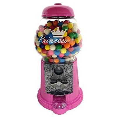 LUCKY Princess in Pink Gumball Machine: Toys & Games
