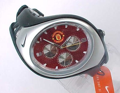 a196ada41dae Nike Triax Swift 3i Analog Manchester United Club Team Watch - Black Red -  WD0002-013 - Buy Online in UAE.