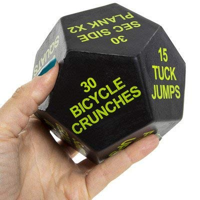 Series 8 Fitness Exercise Dice 2nd Edition (polyurethane)