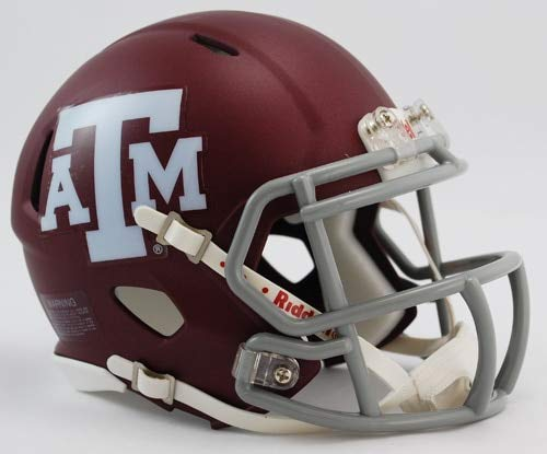 - NCAA Texas A and M Aggies Speed Mini Helmet