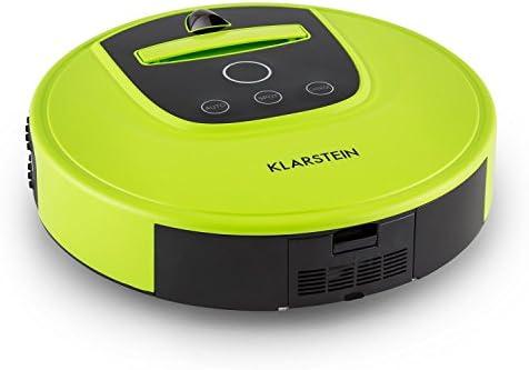 Klarstein 10028521 Cleanhero robot aspirador (2 velocidades, temporizador, batería NiMH, mando a distancia) - verde: Amazon.es: Hogar