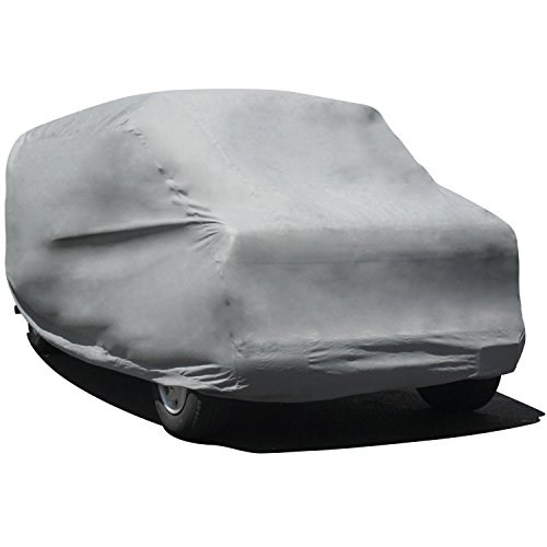 Budge Duro Van Cover Fits Full Size Vans up to 19 feet 7 inches, VD-3 - (Polypropylene, Gray) 1997 Chevy Express 2500 Van