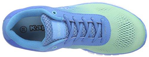 Kappa Sunrise Light Footwear Unisex, Mesh/synthetic - Zapatillas Mujer Azul - Blau (6560 ice/blue)