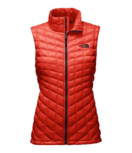 (The North Face Women's Thermoball Vest Fire Brick Red - XS)