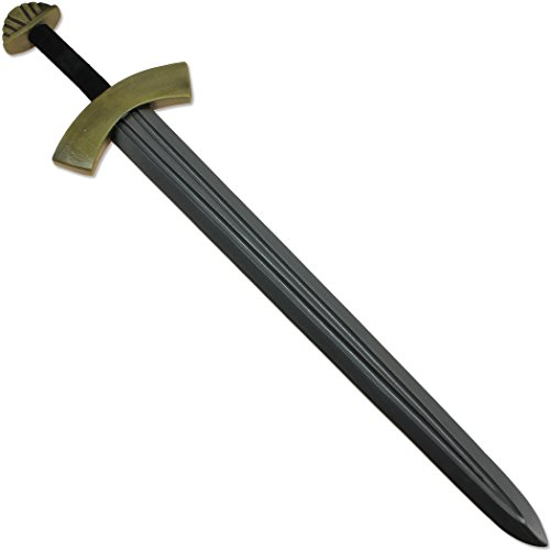 [Loki's Chaotic Viking Sword FOAM Replica of Type IX River Witham Medieval LARP] (Loki Costume)