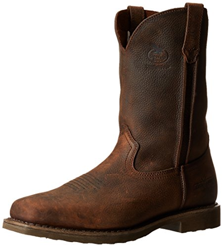 Georgia Boot Men's Carbo Tec G006 Western Boot,Dog Wood,8 M US by Georgia