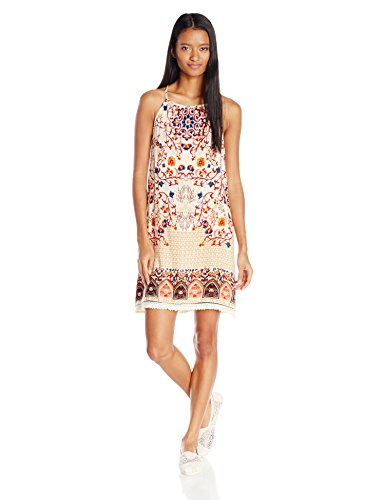Angie Neck Ivory Womens Womens High Angie Printed Dress I6Inxr40