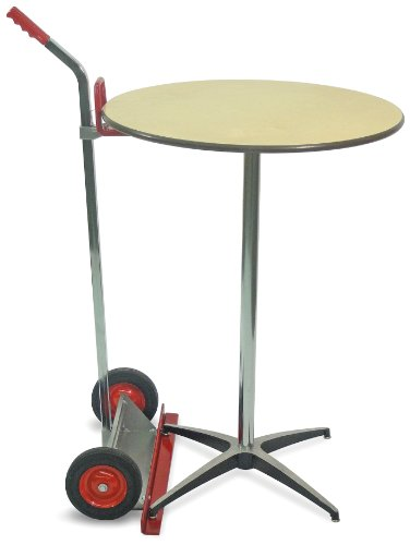Chrome Table Steel (Raymond Steel Table Lift with Chrome Plated Handle, 200 lbs Load Capacity, 30