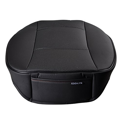 Edealyn Luxury Car Interior Pu Leather Car Seat Cushion
