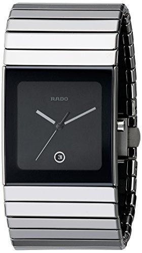 - Rado Men's R21825152 Ceramica Black Dial Watch