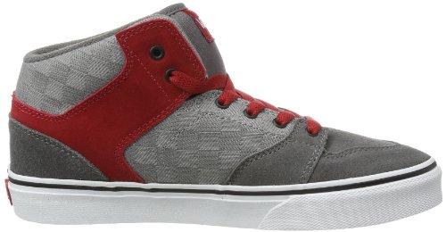 Vans Y BROOKLYN  (CHECK JACQUARD - Zapatillas de cuero infantil Gris (Gris (Check Jacquard))