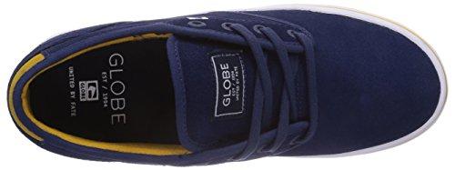 Globe Motley GBMOTLEY - Zapatillas de cuero unisex Azul - Blau (blue/gold 13197)