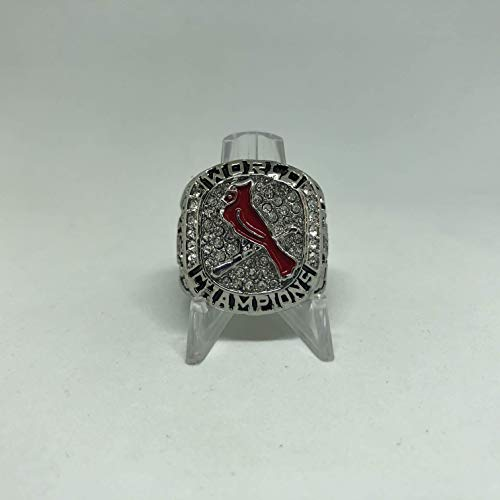Chris Carpenter St. Louis Cardinals High Quality Replica 2011 World Series Championship Ring Size 10-Silver Colored US SHIPPING (St Louis Cardinals World Series Championships 2011)