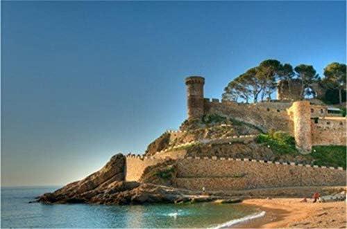 ZZXSY Puzzle De 1000 Piezas Tossa De Mar Costa Brava Cataluña España Se Puede Usar como Regalo De Cumpleaños: Amazon.es: Hogar