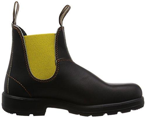 Blundstone, Stivali uomo Marrone yellow/elastic Marrone (yellow/elastic)