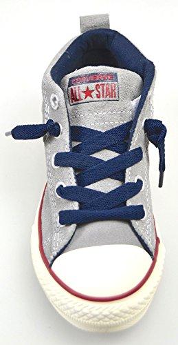 blanc Sneaker Shoe Scarpe bleu Grigio D2618 Bimbo Kid All grsi Star Converse TwPqZ