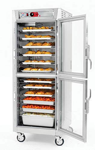 - Metro C589X-SDC-LPDS C5 8 Series Pass-Thru Heated Holding Cabinet, Full Height, Stainless Steel, Dutch Clear Doors/Dutch Solid Doors, Lip Load Aluminum Slides
