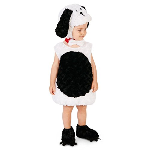 Black and White Puppy Infant Dress Up Costume 12-18M -