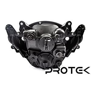 Protek Brand New 2005 2006 Suzuki GSXR1000 GSXR 1000 Headlight Head Lamp Front Light Replacement Housing Assembly