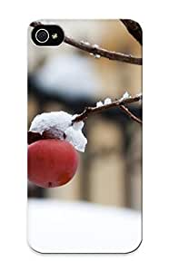 meilinF000Ellent Design First Snow Case Cover For iphone 4/4s For New Year's Day's GiftmeilinF000