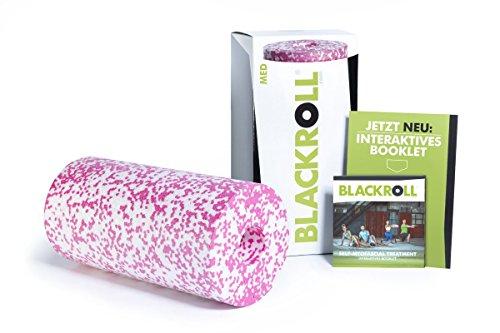 Blackroll Pilates Rolle Med Soft weiß/rosa