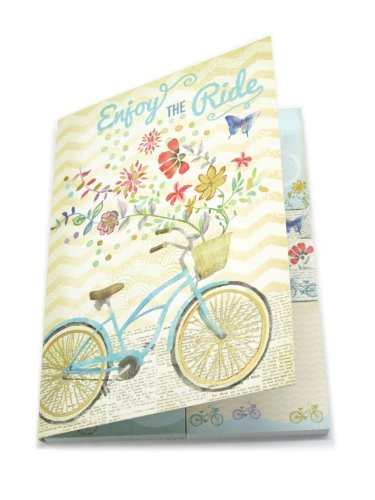 Molly & Rex Bicycle Sticky Note Set in Folder