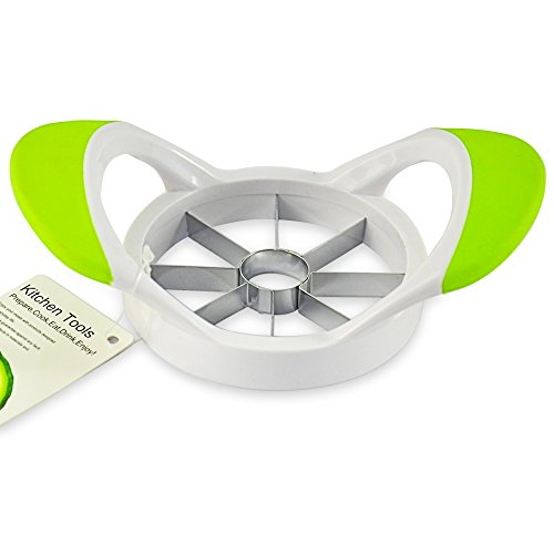 LIDORE Easy Grip Apple Slicer Green