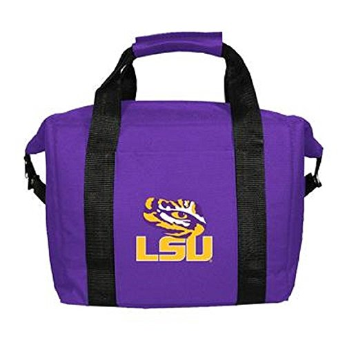 NCAA LSU Fightin Tigers Soft Sided 12-Pack Cooler Bag