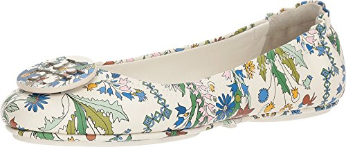 Tory Burch Minnie Ivory Meadow Folly Travel Ballet Flats (7.5 M US) - Tory Burch Ballerina Flats