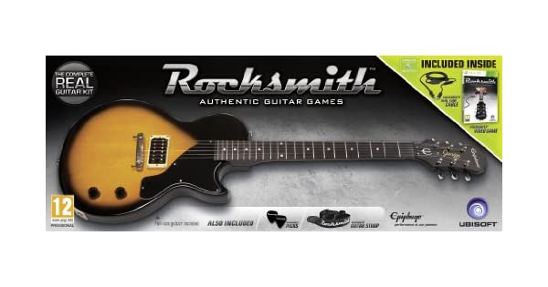 Rocksmith and Epiphone Les Paul Guitar [Importación inglesa]: Amazon.es: Videojuegos