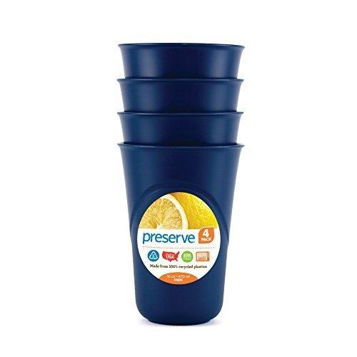 Everyday Cup Blue 4pk Size 16z Everyday Cup Midnight Blue 4pk 16z