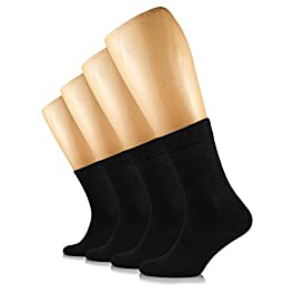 Hugh Ugoli Solid Color Women's Cotton Dress Socks Crew, Shoe Size: 6-9/9-12