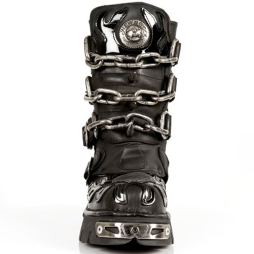 New Rock Boots - Hombre Botas Estilo 727 S1 Negro