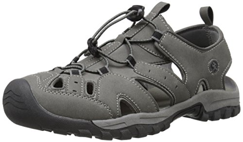 Northside Mens Burke II Sport Athletic Sandal, Gray/Black, 12 M US -
