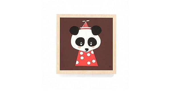 Cuadro Posey Panda - , Multicolor: Amazon.es: Hogar