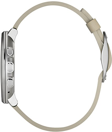 Pebble Time Round 14mm Smartwatch for Apple/Android Devices - Silver/Stone by Pebble Technology Corp (Image #3)
