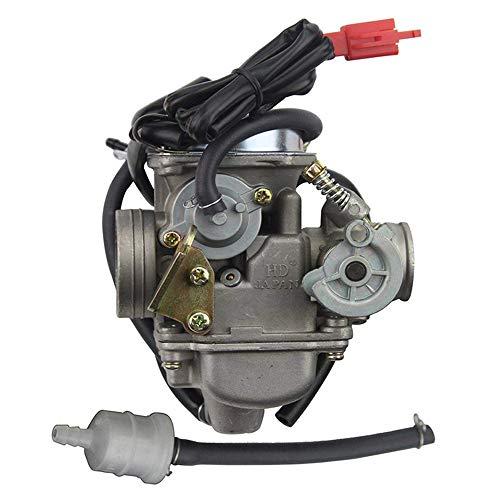 Sanlan PD24J- Carburador para motor GY6 150 cc ATV Scooter 157QMJ.