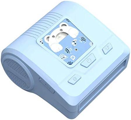 TBCML ポータブルミニポケットワイヤレスBTサーマルプリンタパワーバンク機能クリップデザイン領収書ラベルメモステッカーAR写真画像Printe (Color : A)