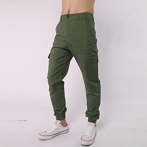 tuta all'aperto tempo verde uomini il sportivi libero ambush attività assalto casual Pantaloni elastici per di quick casual stampa stampato dry con traspirante q6tZR