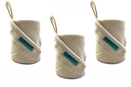 Premium Baby Washcloths - Organic - Hypoallergenic - Soft Ba